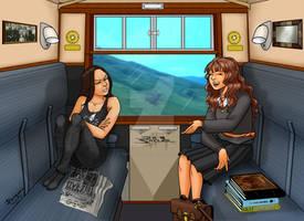 Hogwarts Express BY Jean Sinclair Arts 1