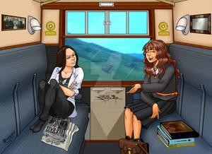 Hogwarts Express by Jean Sinclair Arts B
