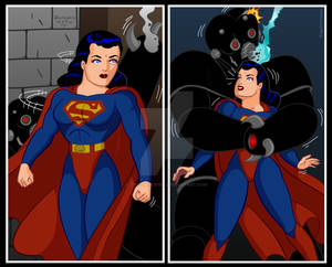 Superwoman in Action by Rogelioroman