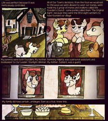 Our Town - Prologue Page 8 by cosmocatcrafts