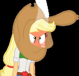Upset Applejack