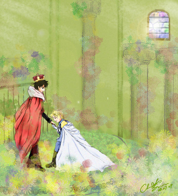 Royal Wedding by scythrine