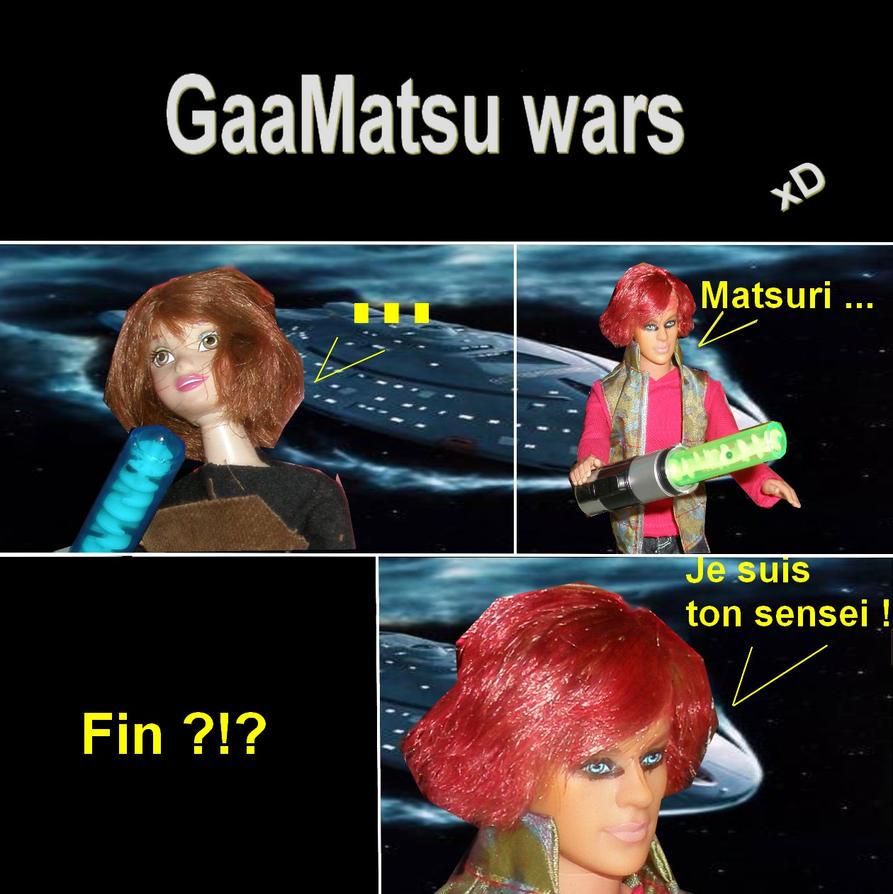 GaaMatsu parody star wars by gaara--x--matsuri