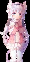 Transparent PNG - Kanna Kamui (Dragon Maid)