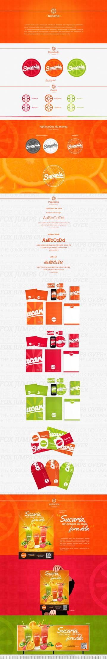 Sucaria Branding by rodrigoounao