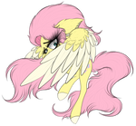 FlutterShy (for a big project) by BeamyButt