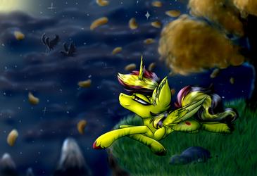 Soothing night skies [C]