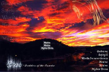 Eros: Goddess of the Sunrise by Niblade