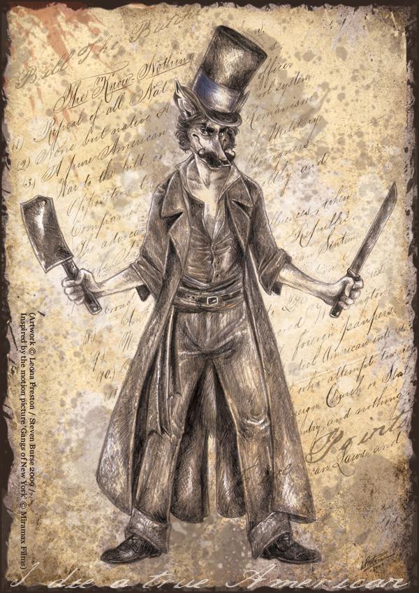 Bill the Butcher by Leopreston