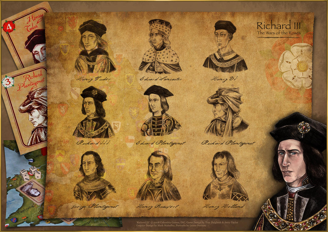Richard III Portraits by Leopreston
