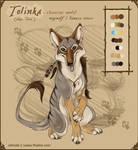 'Tolinka' Model Sheet by Leopreston