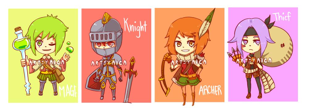 Adventure Squad Adoptables [OPEN] by ArtsyAica