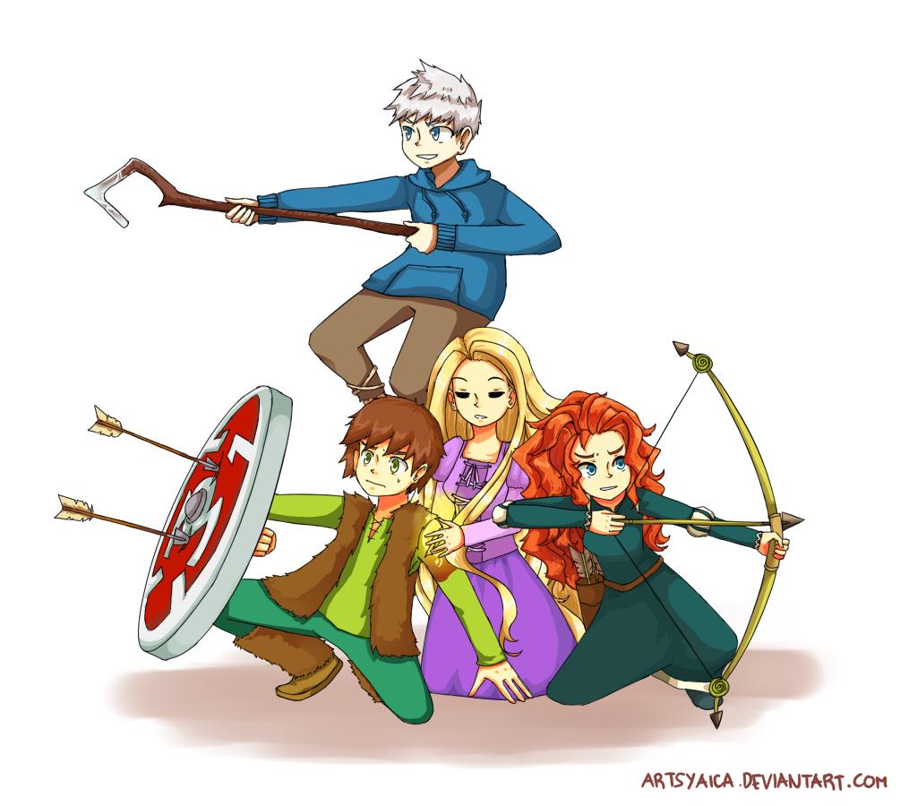 The Big Four by ArtsyAica