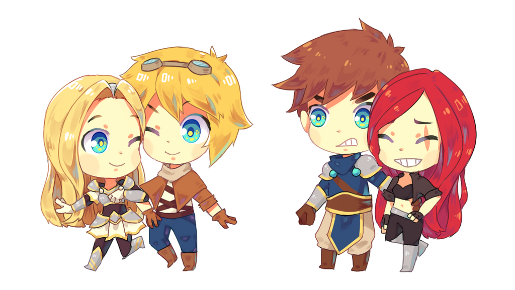 A Lighter Lore Event Ezreal and Lux