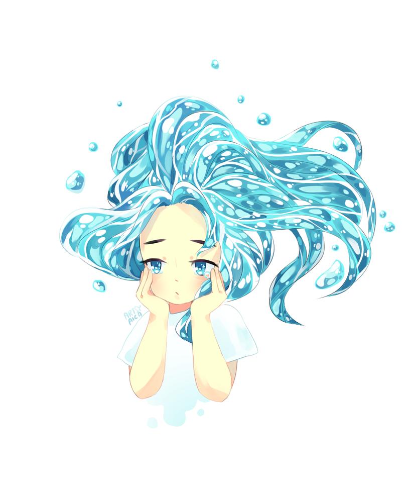Drowning by ArtsyAica