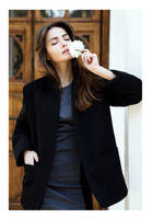 Mira Fashion Black Coats by cheska-ches