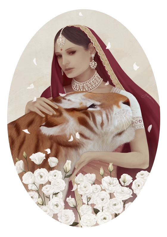 Indian Red Riding Hood by Jumei