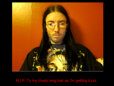 R.I.P. long hair. by thecount692003