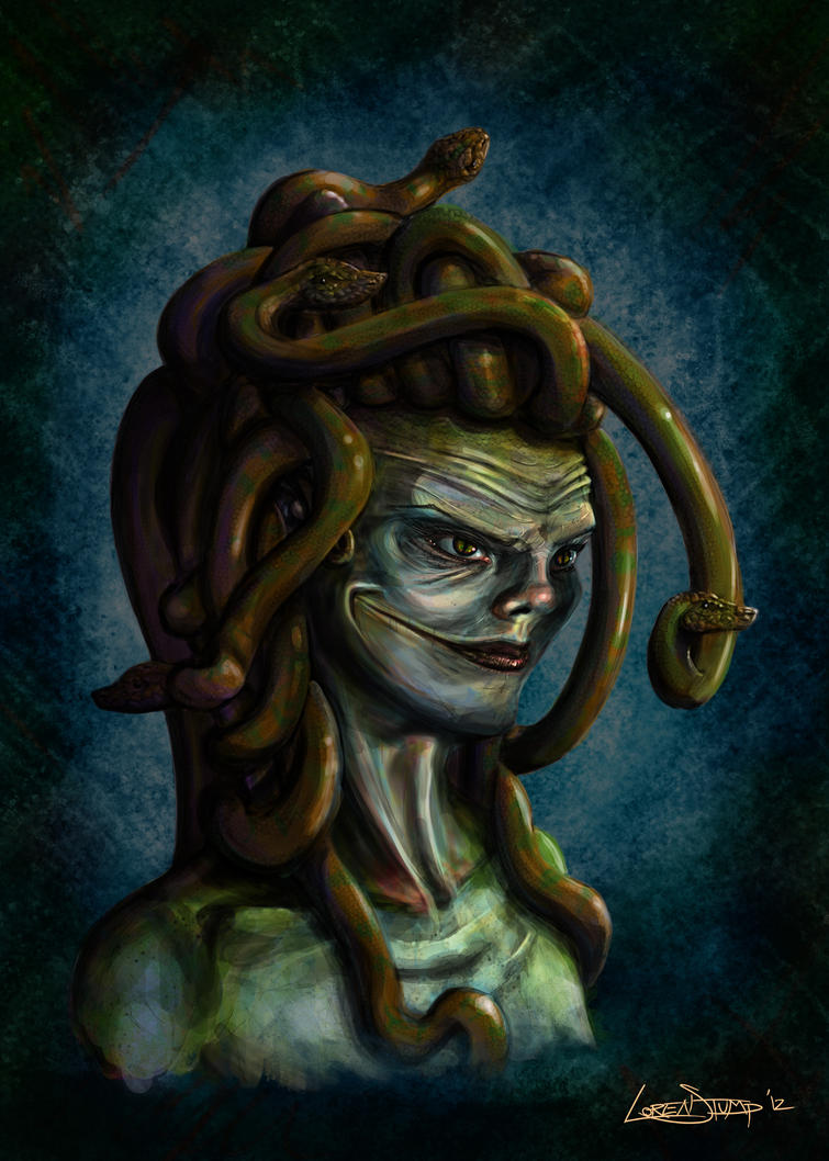 Medusa's Smile by Acrylix91
