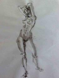 Boceto Femenino 2 by MiriamPerez