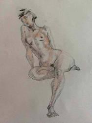 Boceto Femenino 3 by MiriamPerez