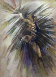 Icarus cazares by MiriamPerez