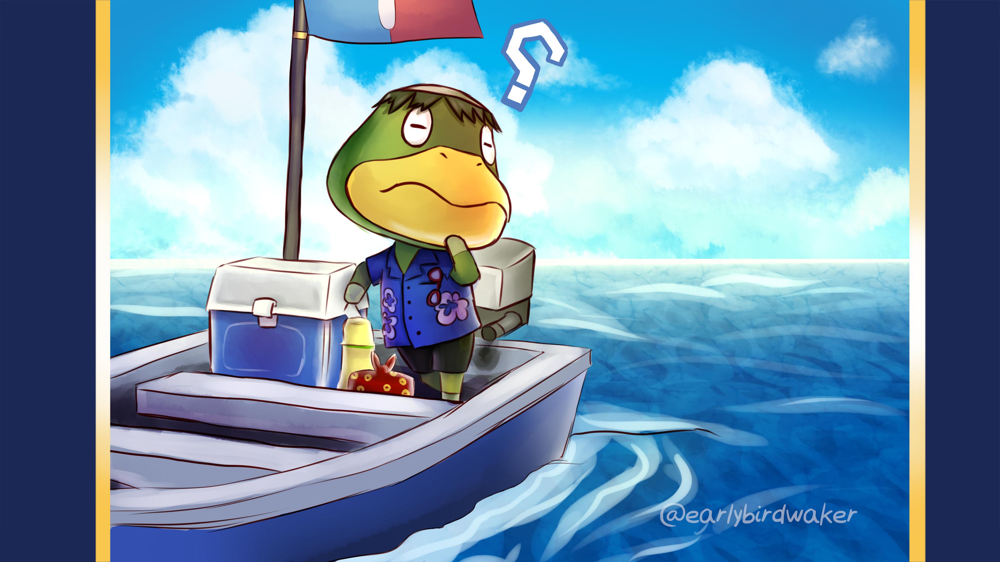 Kapp N Wallpaper Animal Crossing New Leaf By Earlybirdwaker On