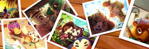 Animal Crossing New Horizons vacation album!
