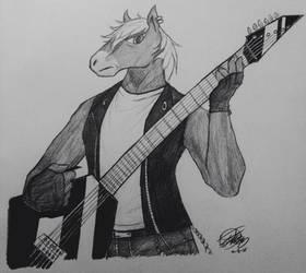 Roscoe the horse by JStar19000