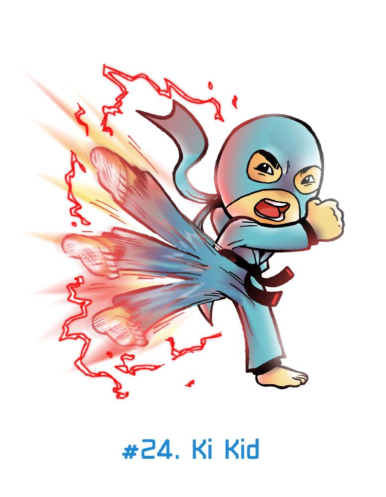 FebrHERO #24. Ki Kid by Anubis-007