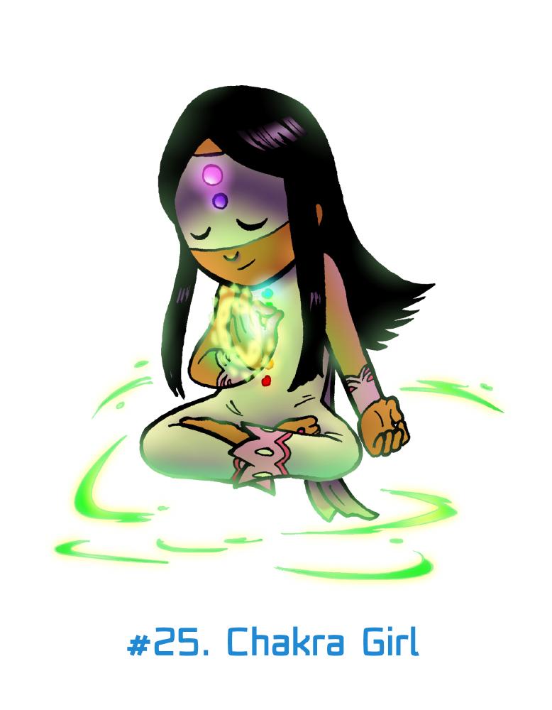 FebrHERO #25. Chakra Girl by Anubis-007