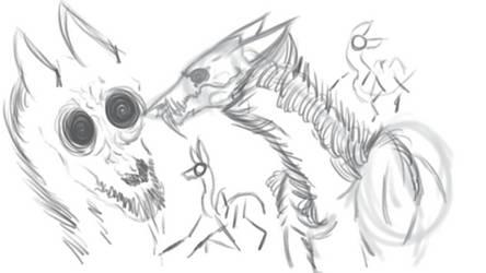 Monsters, Monsters Everywhere by Hanshowlett24