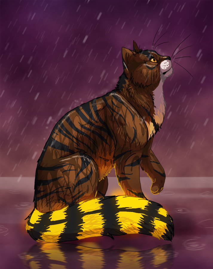 God is in the rain by Elzux