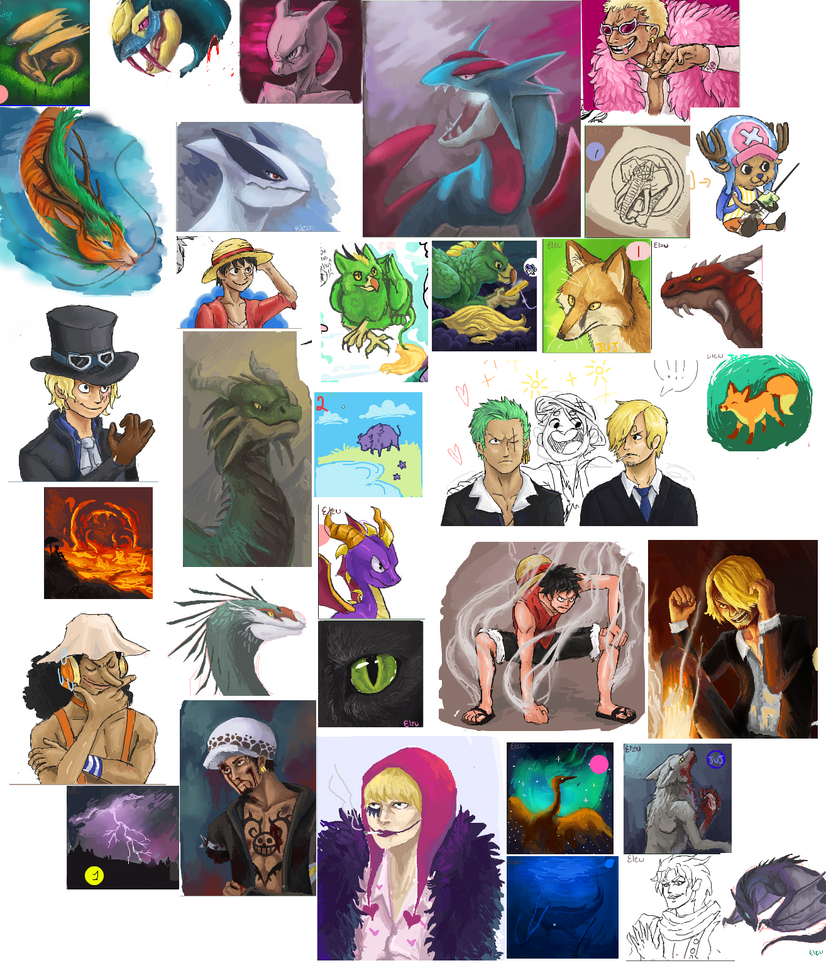 iScribble dump by Elzux