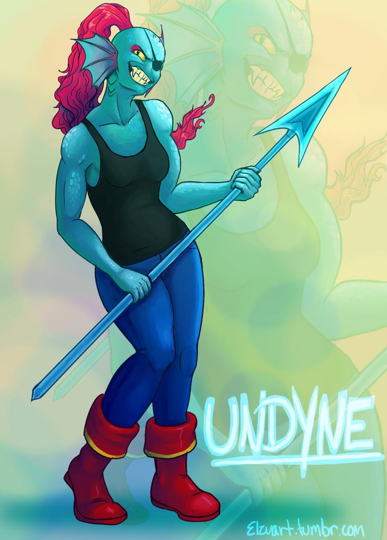 UNDYNE by Elzux