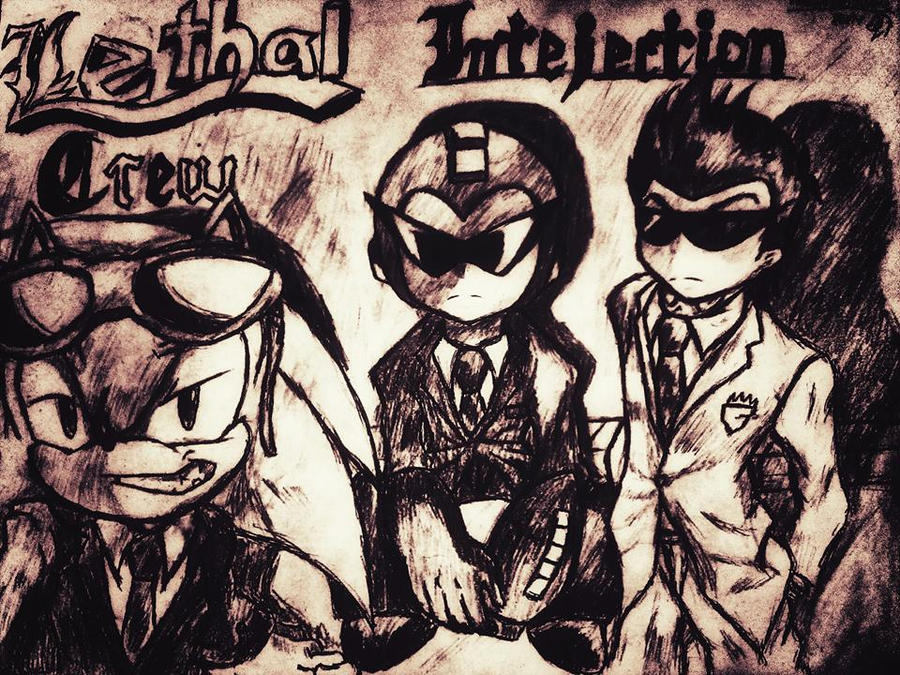 Lethal intejection poster by SSBBknuckles