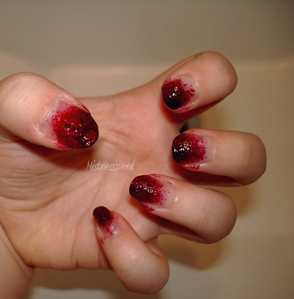 Halloween Zombie nails by MistressNerd Halloween Zombie nails by  MistressNerd - Zombie Nails By MistressNerd On DeviantArt