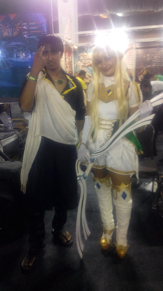 Zeref cosplay at Comic Con by sreshtiyer