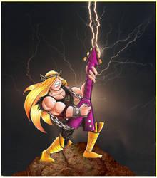 The Gods Made Heavy Metal by Giosuke
