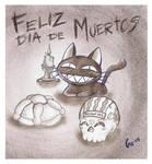 Feliz Dia de Muertos by Giosuke