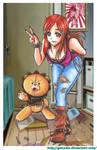 Inoue y KON by Giosuke
