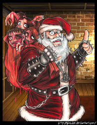 Satan Claus is Coming To Town by Giosuke