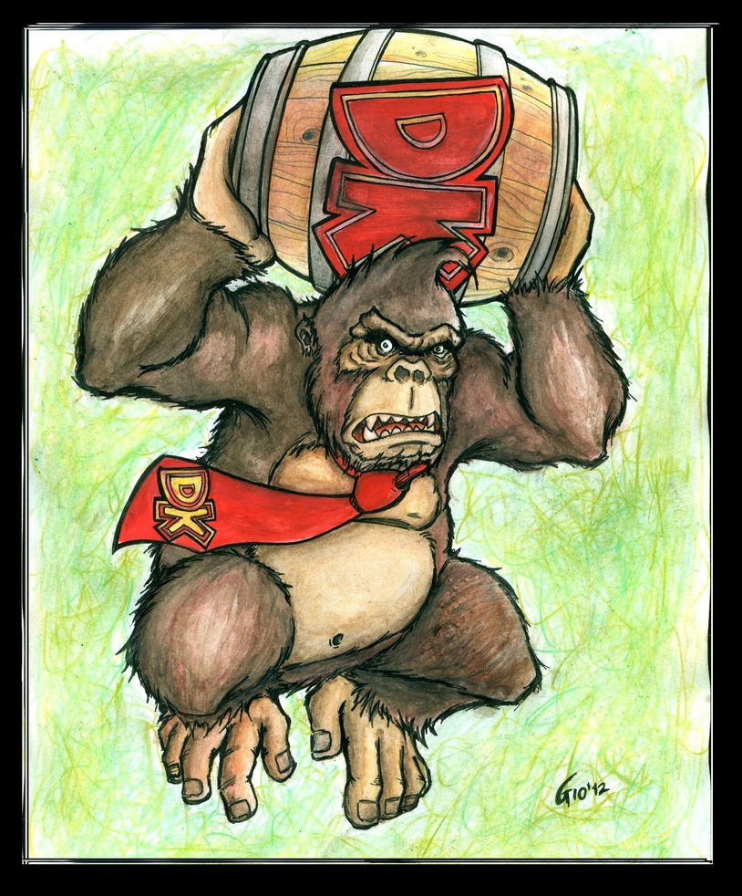 Real Donkey Kong by Giosuke