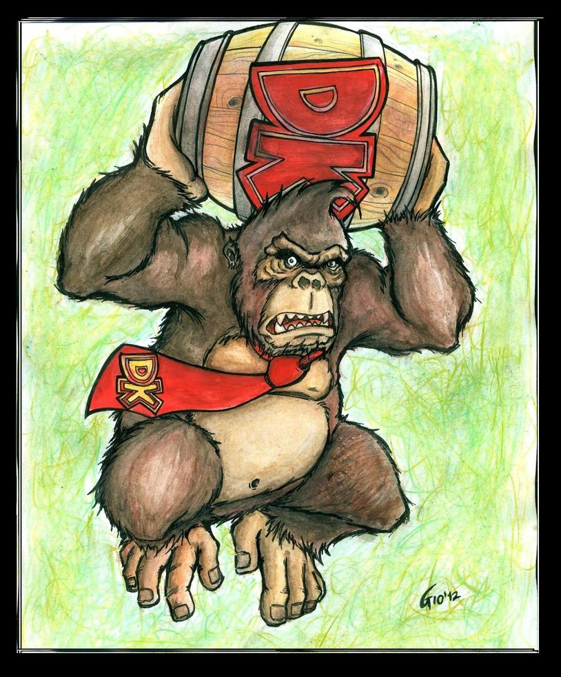 Real Donkey Kong by Giosuke
