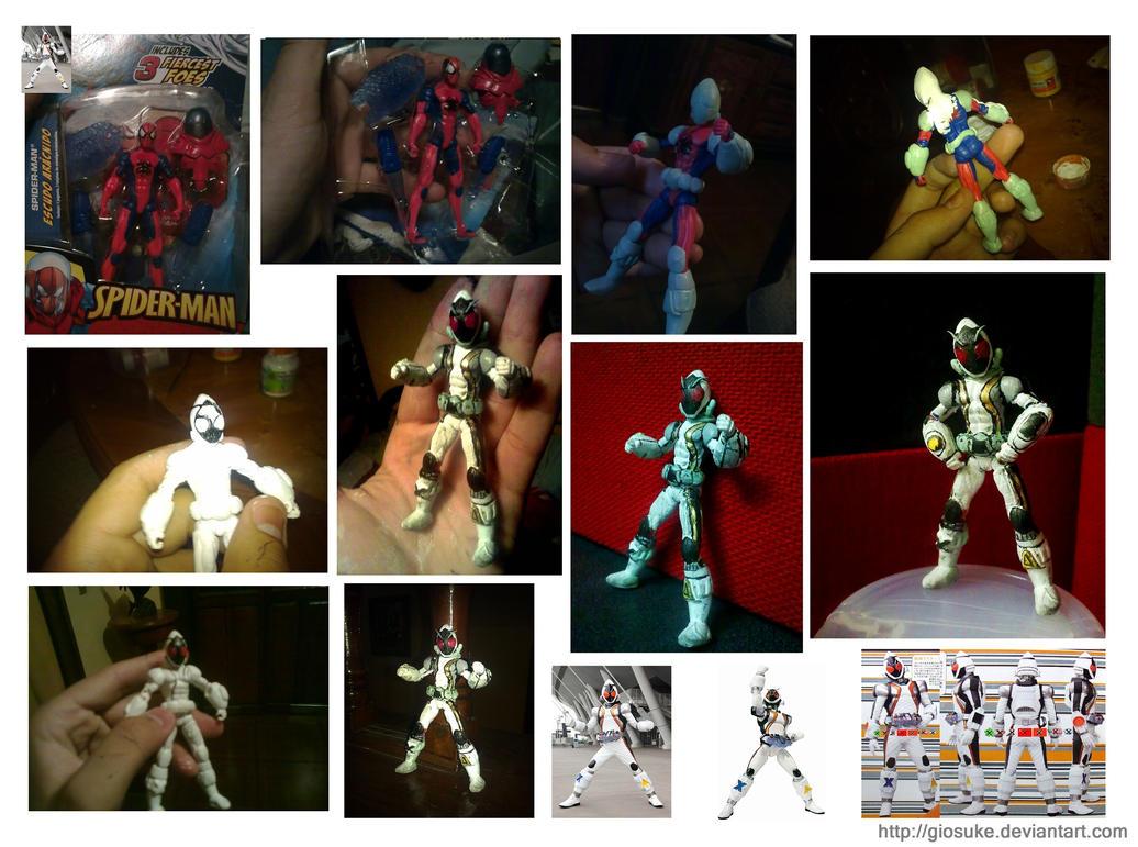 Kamen Rider Fourze Custom by Giosuke