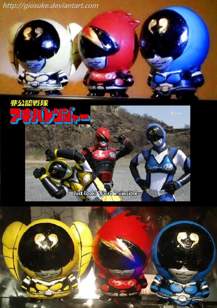 Unofficial Sentai Akibaranger CUSTOM by Giosuke