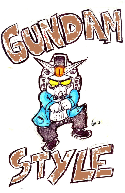 Gundam Style by Giosuke