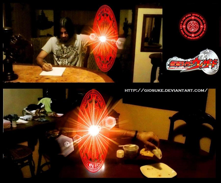 Like Kamen rider Wizard by Giosuke