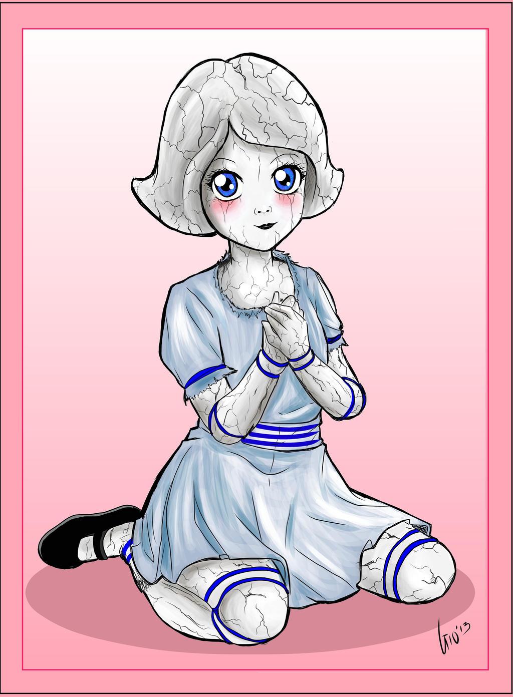 Porcelain Girl by Giosuke