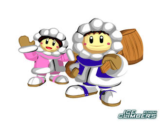 Ice Climbers by someday-soon63